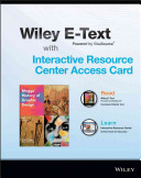 Meggs  History of Graphic Design  Fifth Edition Wiley E Text Card and Interactive Resource Center Access Card