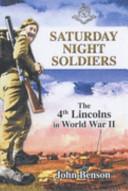 Saturday Night Soldiers Book