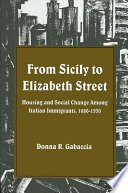 From Sicily to Elizabeth Street