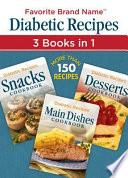 Diabetic Recipes 3 in 1