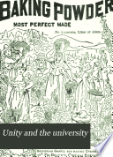 Unity and the University Book