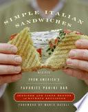 Simple Italian Sandwiches