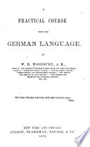 A practical course with the German language
