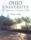 Ohio University  1804 2004