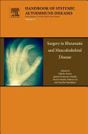 Surgery in Rheumatic and Musculoskeletal Disease