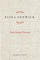 Eliza Fenwick Pdf/ePub eBook