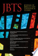 Journal Of Biblical And Theological Studies Issue 2 1