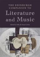 Pdf Edinburgh Companion to Literature and Music Telecharger
