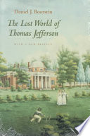 Download The Lost World of Thomas Jefferson Epub