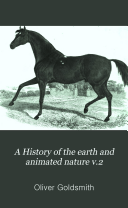 A History of the earth and animated nature v 2