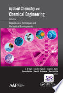 Applied Chemistry and Chemical Engineering, Volume 4