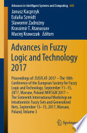 Advances In Fuzzy Logic And Technology 2017