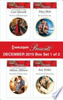 Harlequin Presents December 2015 Box Set 1 Of 2