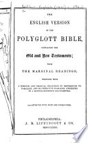 The English Version Of The Polyglott Bible Containing The Old And New Testaments