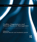 Conflict  Negotiations and Natural Resource Management