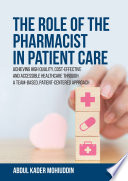 The Role of the Pharmacist in Patient Care Book