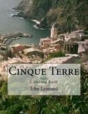 Cinque Terre, Italy Coloring Book