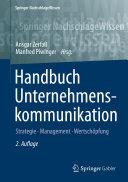 Handbuch Unternehmenskommunikation