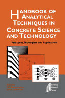Handbook of Analytical Techniques in Concrete Science and Technology
