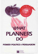 What Planners Do