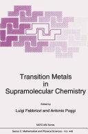 Transition Metals in Supramolecular Chemistry