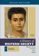 A History of Western Society  Value Edition  Volume 1