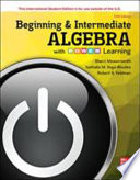 ISE Beginning and Intermediate Algebra with P.O.W.E.R. Learning