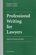 Professional Writing for Lawyers