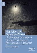 Homicide and Organised Crime Pdf/ePub eBook