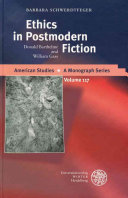 Ethics in Postmodern Fiction Book