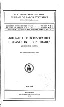 Mortality from Respiratory Diseases in Dusty Trades  inorganic Dusts