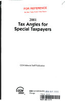 2001 Tax Angles for Special Taxpayers