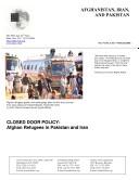 Afghanistan  Iran  and Pakistan