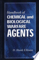 Handbook of Chemical and Biological Warfare Agents Book