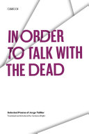 In Order to Talk with the Dead ebook