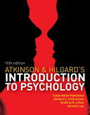 Cover of Atkinson & Hilgard's Introduction to Psychology