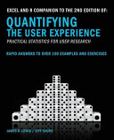 Excel and R Companion to the Second Edition of Quantifying the User Experience