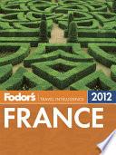 Fodor S France 2012 Book PDF