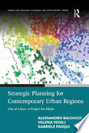 Strategic Planning for Contemporary Urban Regions Book