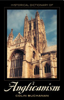 Historical Dictionary of Anglicanism