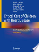 Critical Care Of Children With Heart Disease Book PDF