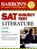 Barron s SAT Subject Test Literature