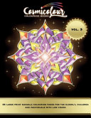35 Large Print Mandalas for the Elderly  Children and Individuals with Low Vision Volume 3