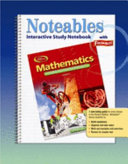 Mathematics  Applications and Concepts  Course 1  Noteables  Interactive Study Notebook with Foldables
