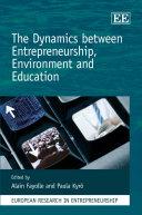 Pdf The Dynamics Between Entrepreneurship, Environment and Education Telecharger