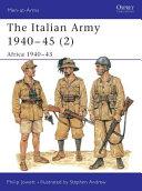 The Italian Army 1940–45 (2)