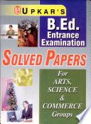 U.P./uttarakhand B.Ed. Solved Papers