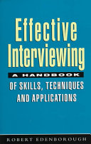 Effective Interviewing Book PDF