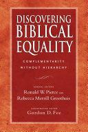 Discovering Biblical Equality [Pdf/ePub] eBook