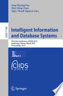 Intelligent Information And Database Systems Book PDF